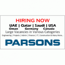 Parsons Jobs Openings Apply Now Over All The World